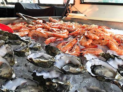 Prawns Oysters Cruise