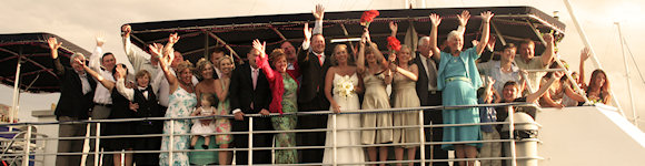 Wedding Cruise Mooloolaba 1
